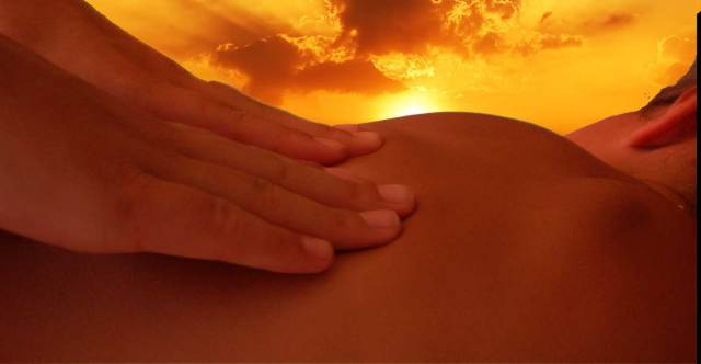 warm energy Tantra touch